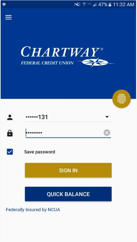 Chartway Federal Credit Union Mobile Banking