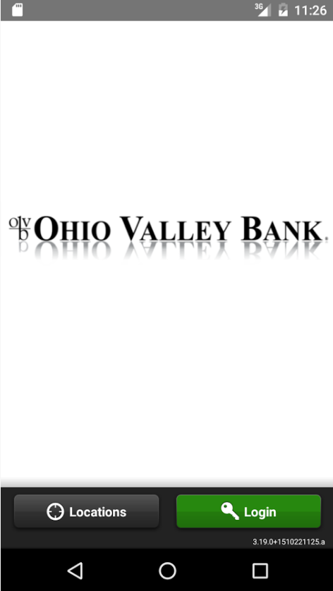 Ohio Valley Bank Online Banking Enroll Step 1