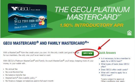 Gecu Credit Cards Personal Business