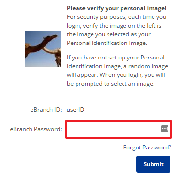 Chartway Federal Credit Union Online Banking Login Step 3