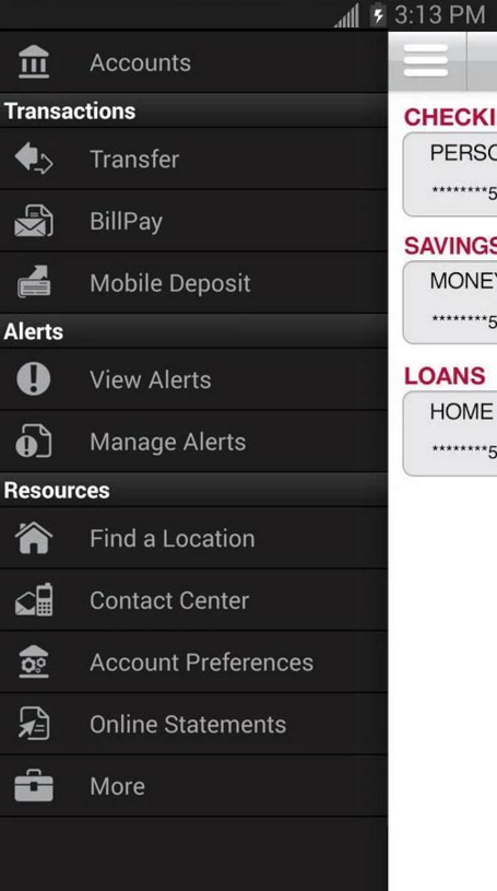 Bank of Albuquerque Online Banking Enroll Step 2