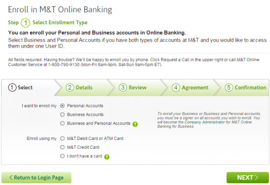 M T Online Banking Sign In