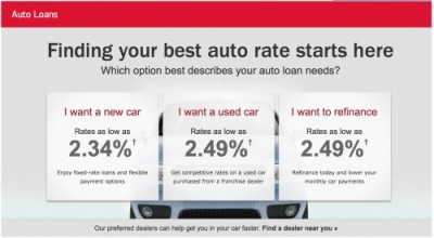 Bank Of America Auto Loan Rates And Calculators