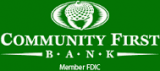 Logo Community First Bank Online Banking