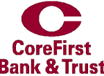 Logo CoreFirst Bank and Trust Online Banking